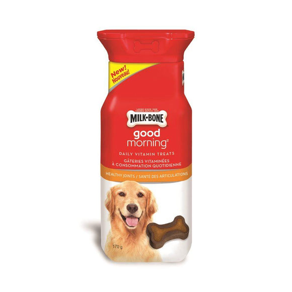 Smuckers Milk Bone Good Morning Healthy Joints 30 Pack 4/170g Dog Supplies J.M.Smuckers