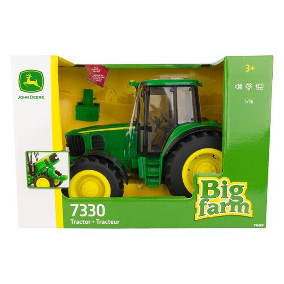 16 JD Big Farm 7330 Tractor Toy John Deere