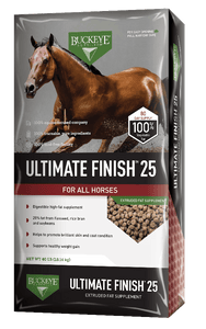 Buckeye Ultimate Finish 25 - 18kg Equine Buckeye