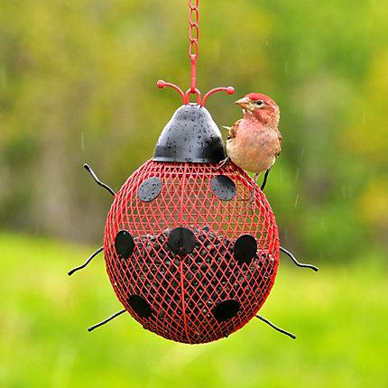 Woodstream No/No Ladybug Mesh Wild Bird Feeder KB Depot Express