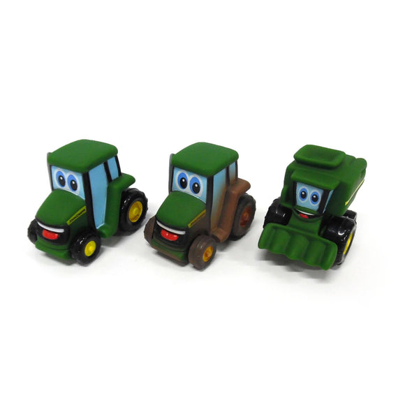 3 IN JOHNNY TRACTOR FRIEND PDQ Toy John Deere