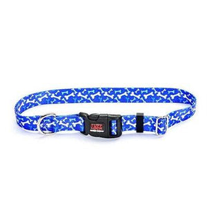 "Reflex Collar 3/4""x17"" Bonz Blue Dog Supplies Reflex Corporation"