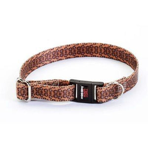 "Reflex Collar 1/2"" Break-Away Leopard Dog Supplies Reflex Corporation"