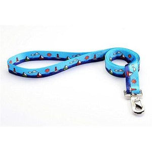 "Reflex Leash 1""x6"" Sailboats Cat Supplies Reflex Corporation"