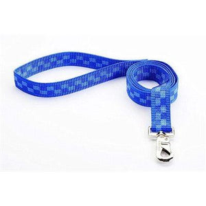 "Reflex Leash 3/4""x6"" Royal Checker Cat Supplies Reflex Corporation"