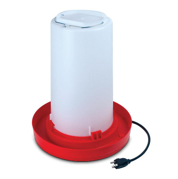 Heated Poultry Waterer poultrywaterer Kane Vet Supplies 3 gallon