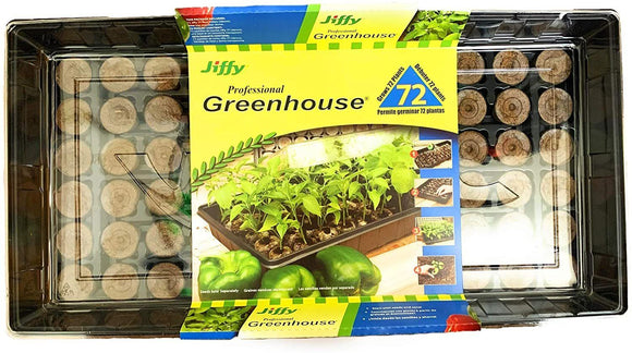 Jiffy Professional Greenhouse (72 plants) Lawn and Garden Jiffy