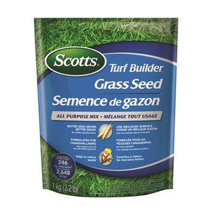 Scotts Turf Builder Grass Seed All Purpose Mix 1KG Lawn and Garden Scotts Canada