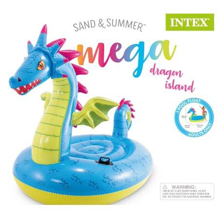 Mega Dragon Island Pool Floatie Kakabeka Depot Express