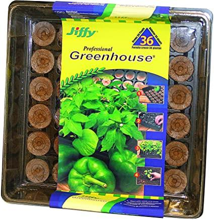 Jiffy Professional Greenhouse (36 plants) Lawn and Garden Jiffy