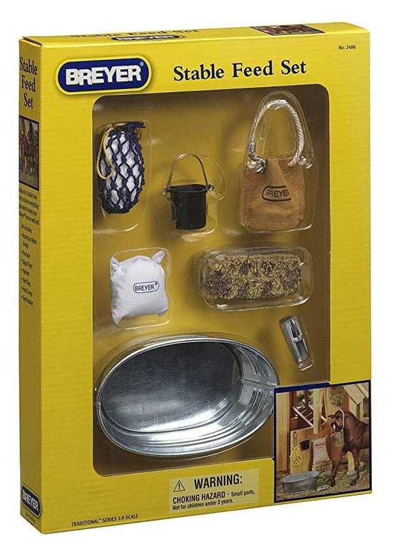 Stable Feed Set Toy Breyer