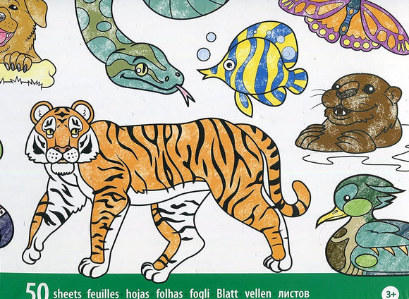 Jumbo Colouring Pad - Animals Colouring Pad Melissa and Doug