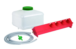 Little Giant Automatic Trough Waterer Kit poultrywaterer Kane Vet Supplies