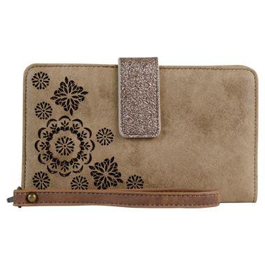 Catchfly Laser cut wallet TAN Wallet Trenditions