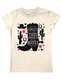 Farm Girl Infant Shirt (This Princess Wears Boots) Shirt Farm Girl