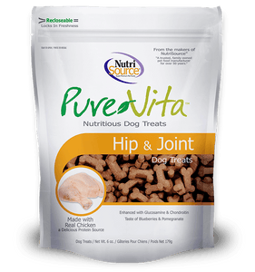 Pure Vita Hip & Joint Dog Treats 6oz Dog Treats Lei's Pet