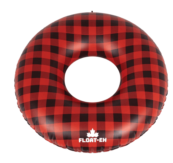 Float Eh Buffalo Plaid Tube Float Pool Floatie Float Eh