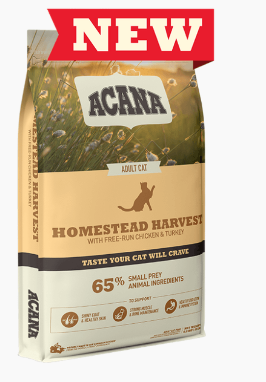 Acana Cat - Homestead Harvest Dry Cat Food Cat Food Champion Pet Foods 1.8kg