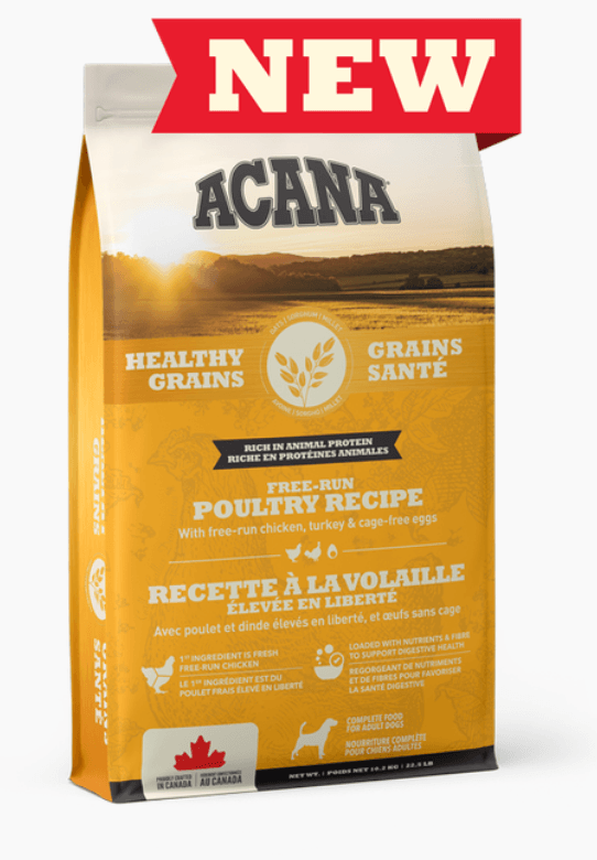 Acana Healthy Grains - Free-Run Poultry Recipe Dog Food Champion Pet Foods 1.8kg