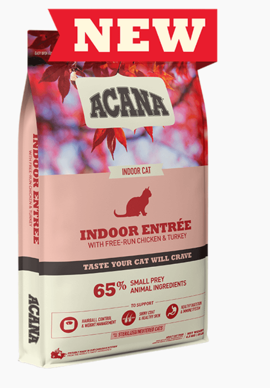 Acana Cat - Indoor Entree Dry Cat Food Cat Food Champion Pet Foods 1.8kg