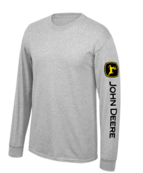 Trademark Logo Long Sleeve John Deere Men's Clothing John Deere Clothing