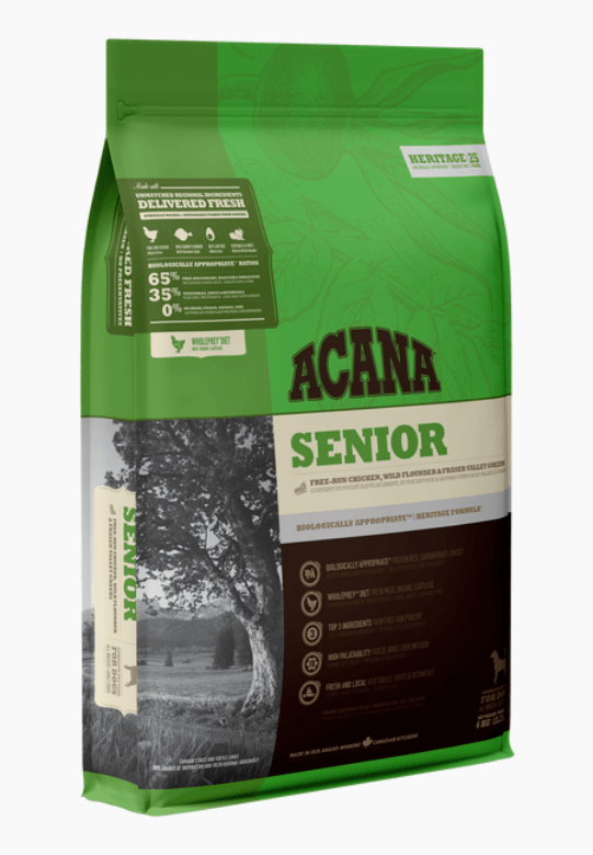 Acana Heritage - Senior Dry Dog Food Dog Food Champion Pet Foods 2kg