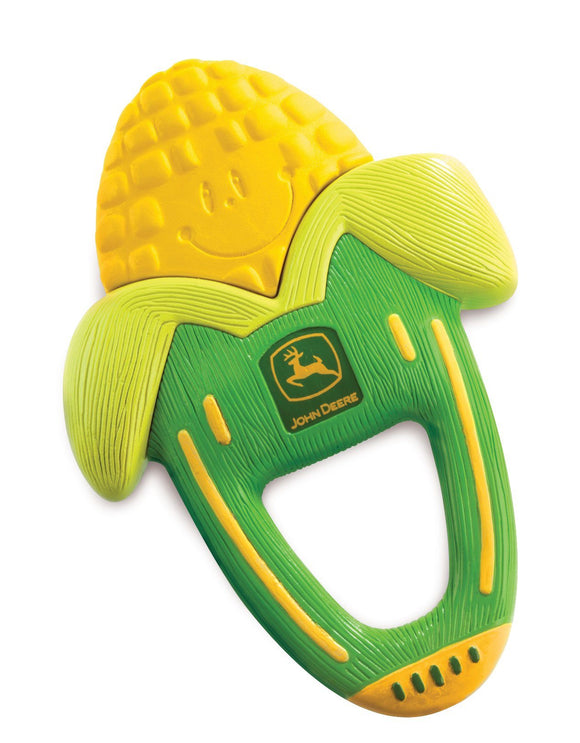 JD Massaging Corn Teether Toy John Deere