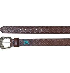 Roughy Hooey Belt Chocolate Aztec Belt KB Depot Express