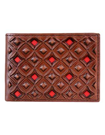 Hooey Sig. Bifold wallet Brown/Red Wallet Trenditions