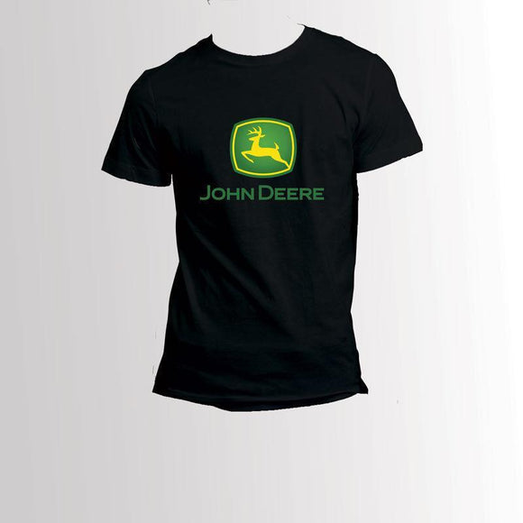 John Deere Black T-Shirt John Deere Clothing John Deere Clothing M
