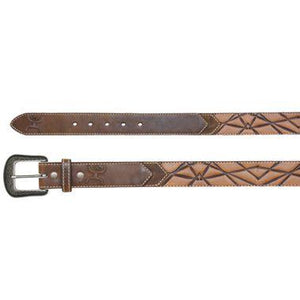 Hooey Belt Dark Brown Triangle Belt Trenditions