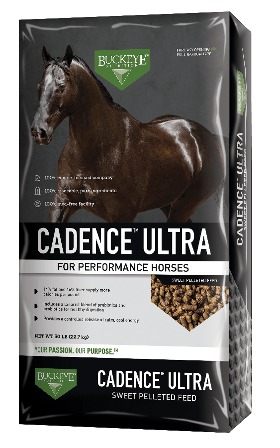 Cadence Ultra Pelleted Feed Horse Feed Buckeye