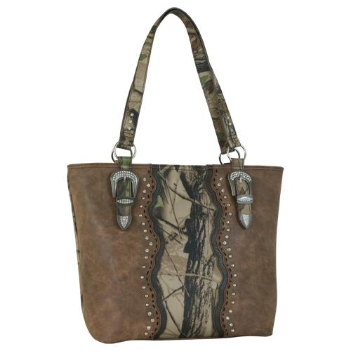 Coral Ridge Camo Tote Purse Trenditions