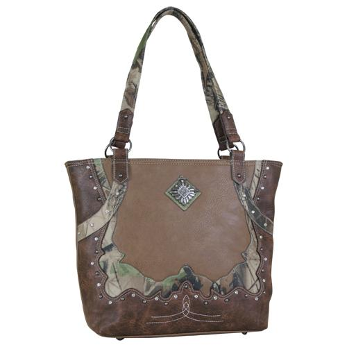 Way West CAMO Tote purse Purse Trenditions