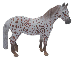 British Spotted Pony Mare Chestnut Toy Breyer