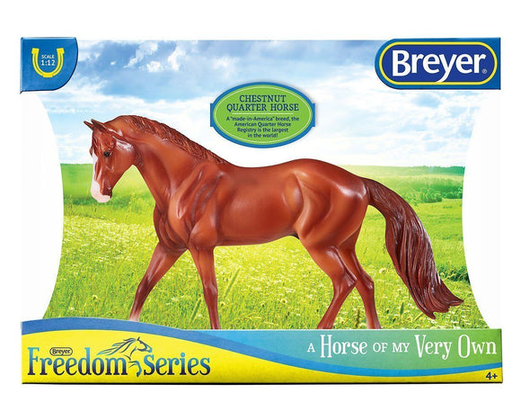 Chestnut Quarter Horse Toy Breyer