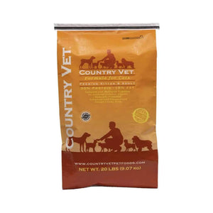 Country Vet Premium Cat Food 30/15 20lb Cat Food Country Vet