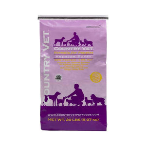 Premium Puppy Dog Food Country Vet
