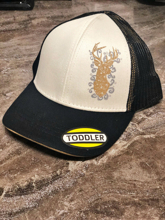 Gold Deer Hat hat John Deere Clothing