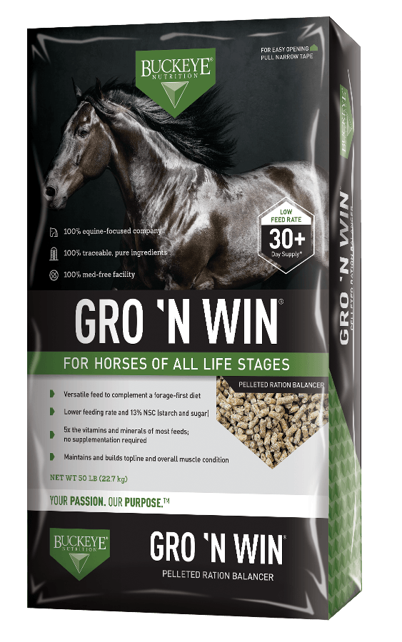 Grow'n Win Horse Feed Buckeye