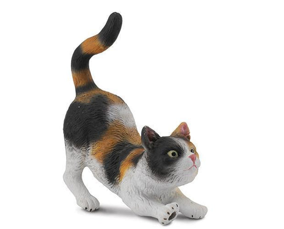 3 Colour House Cat - Stretching Toy Breyer