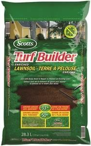 Turf Builder Starter 79528750 Enriched Lawn Soil, 28.3 l, Bag Lawn and Garden orgill