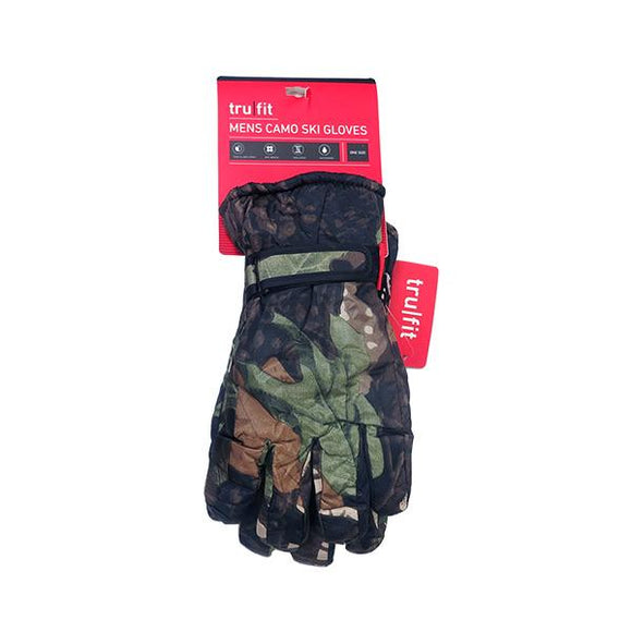 Men's Camo Ski Glove Hunting Continental Sports Inc.
