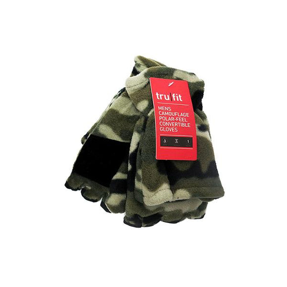 Men's Convertible Camo Gloves Hunting Continental Sports Inc.