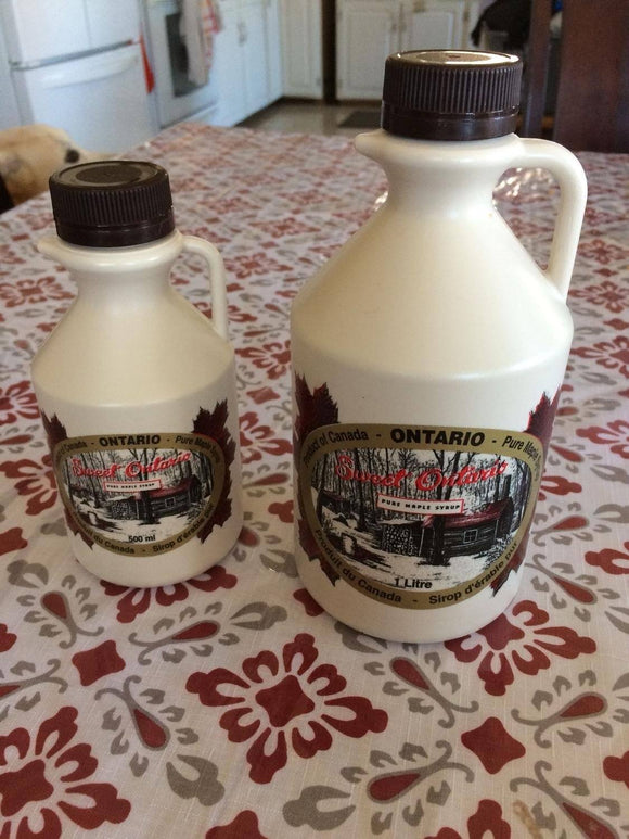500mL Canada West Maple Syrup Syrup Canada West Maple Products