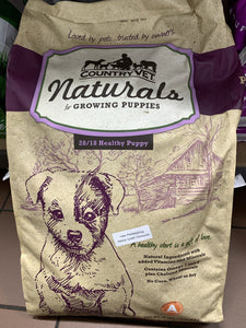 Country Vet Growing Puppies Formula Puppy Food Dog Food Country Vet Naturals 35lb