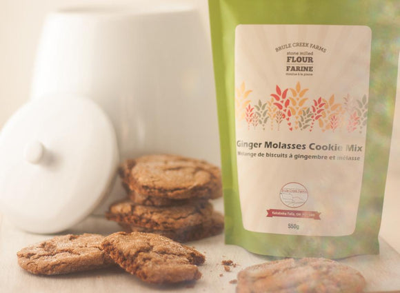 Brule Creek Farms Ginger Molasses Cookie Mix Brule Creek Farms