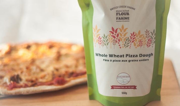 Brule Creek Farms Whole Wheat Pizza Dough Brule Creek Farms