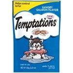 Temptations Cat Treats Savoury Salmon Flavor 85g Cat Food MARS Petcare