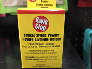 MiracleCorp Kwik Stop Styptic Powder 14.2g Dog Supplies MiracleCorp